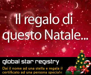 Regala una stella come regalo di Natale